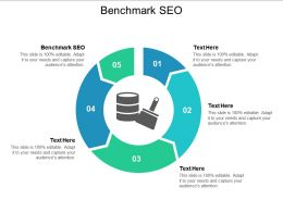Benchmark SEO Ppt Powerpoint Presentation Gallery Pictures Cpb