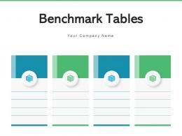Benchmark Tables Competitors Analysis Marketing Product Business Goals