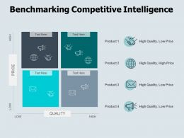 Benchmarking Competitive Intelligence Opportunity Ppt Powerpoint Presentation Icon Inspiration