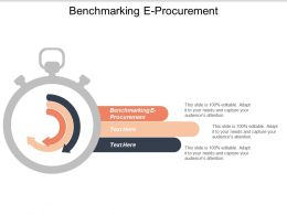 Benchmarking E Procurement Ppt Powerpoint Presentation Styles Model Cpb