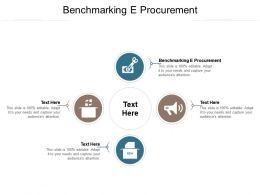 Benchmarking E Procurement Ppt Powerpoint Presentation Summary Mockup Cpb