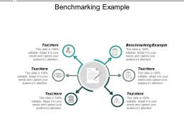 Benchmarking Example Ppt Powerpoint Presentation Infographics Skills Cpb
