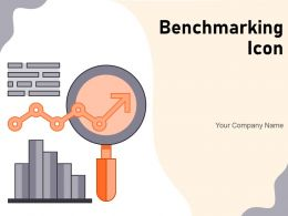 Benchmarking Icon Business Gear Financial Dollar Performance Assessment Progress