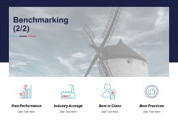 Benchmarking Industry Average Past Performance Ppt Powerpoint Presentation File Graphics Template