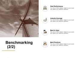 Benchmarking Industry Average Ppt Powerpoint Presentation Layouts Slide Portrait