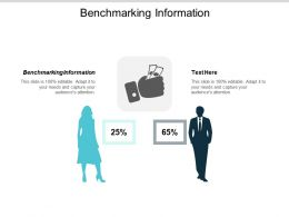 Benchmarking Information Ppt Powerpoint Presentation Slides Rules Cpb