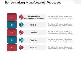 Benchmarking Manufacturing Processes Ppt Powerpoint Presentation Model Cpb