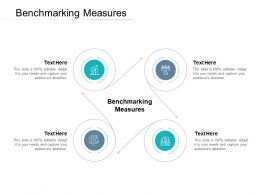 Benchmarking Measures Ppt Powerpoint Presentation Show Graphic Images Cpb