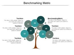 Benchmarking Metric Ppt Powerpoint Presentation Infographics Background Images Cpb