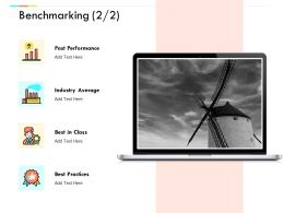 Benchmarking Performance Industry Average Ppt Powerpoint Presentation Icon Graphic Images