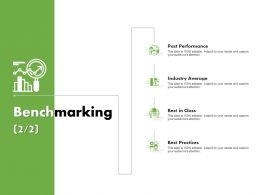 Benchmarking Performance Ppt Powerpoint Presentation Gallery
