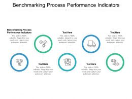 Benchmarking Process Performance Indicators Ppt Powerpoint Presentation File Cpb