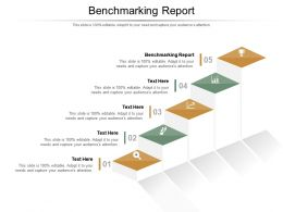 Benchmarking Report Ppt Powerpoint Presentation Gallery Background Images Cpb