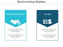 Benchmarking Statistics Ppt Powerpoint Presentation Gallery Graphics Example Cpb