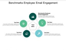 Benchmarks Employee Email Engagement Ppt Powerpoint Presentation Rules Cpb