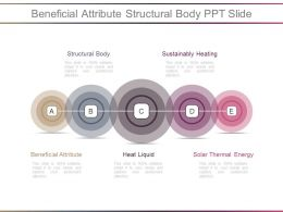 Beneficial Attribute Structural Body Ppt Slide