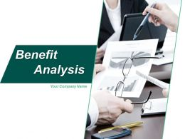 Benefit Analysis Ppt Professional Example Introduction Discounted Net Cash Flow