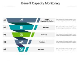Benefit Capacity Monitoring Ppt Powerpoint Presentation Gallery Deck Cpb