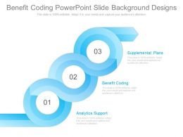 Benefit Coding Powerpoint Slide Background Designs