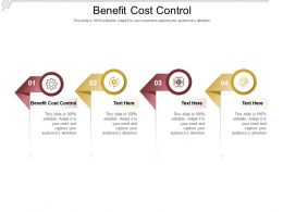 Benefit Cost Control Ppt Powerpoint Presentation Pictures Layouts Cpb