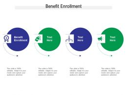 Benefit Enrollment Ppt Powerpoint Presentation Portfolio Pictures Cpb