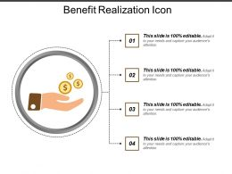 Benefit Realization Icon 4