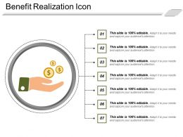 Benefit Realization Icon 7