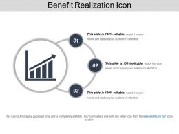 Benefit Realization Icon 8