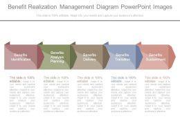 Benefit Realization Management Diagram Powerpoint Images