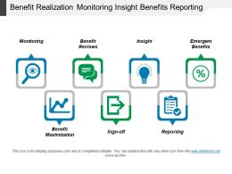 Benefit Realization Monitoring Insight Benefits Reporting