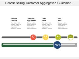 Benefit Selling Customer Aggregation Customer Targeting Customer Input