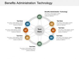 Benefits Administration Technology Ppt Powerpoint Presentation Summary Icon Cpb