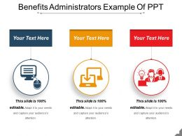 Benefits Administrators Example Of Ppt