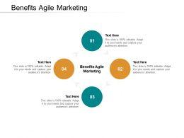 Benefits Agile Marketing Ppt Powerpoint Presentation Inspiration Background Designs Cpb