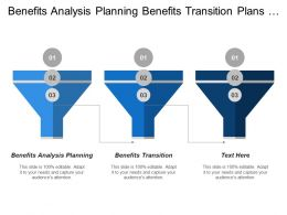 Benefits Analysis Planning Benefits Transition Plans Updates Initiating Processes