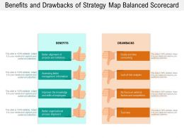Benefits And Drawbacks Of Strategy Map Balanced Scorecard