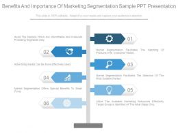 benefits_and_importance_of_marketing_segmentation_sample_ppt_presentation_Slide01