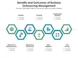 Benefits And Outcomes Of Business Outsourcing Management