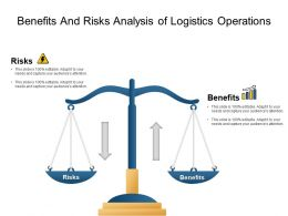 Benefits And Risks Analysis Of Logistics Operations