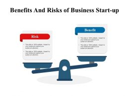 Benefits And Risks Of Business Start Up