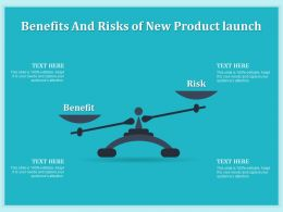 Benefits And Risks Of New Product Launch