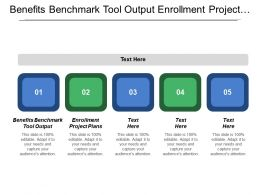 Benefits Benchmark Tool Output Enrollment Project Plans Marketing Implement