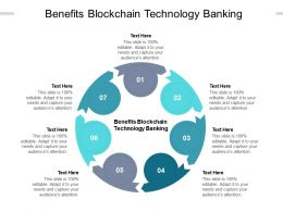 Benefits Blockchain Technology Banking Ppt Powerpoint Presentation Ideas Portfolio Cpb