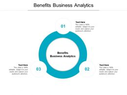 Benefits Business Analytics Ppt Powerpoint Presentation File Clipart Images Cpb