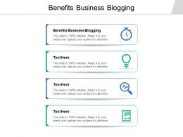 Benefits Business Blogging Ppt Powerpoint Presentation File Microsoft Cpb