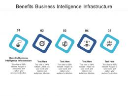 Benefits Business Intelligence Infrastructure Ppt Powerpoint Presentation Icon Template Cpb