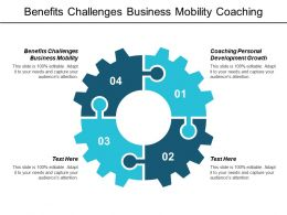 Benefits Challenges Business Mobility Coaching Personal Development Growth Cpb