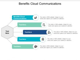 Benefits Cloud Communications Ppt Powerpoint Presentation Slides Structure Cpb