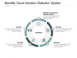Benefits Cloud Intrusion Detection System Ppt Powerpoint Presentation Styles Background Designs Cpb