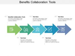 Benefits Collaboration Tools Ppt Powerpoint Presentation Ideas Example Introduction Cpb